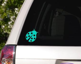 Ladybug Car Window Decal