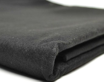 Free Shipping Chinese Calligraphy Material  1.5x3m Black Wool Felt / Wool Felt Pad / Wool Felt Mat - Wool Blend -  0008