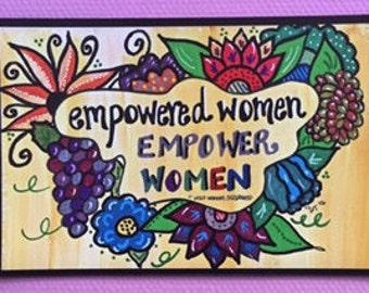 Empowered Women Magnet