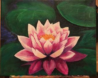 Precious Water Lily : ORIGINAL by JenEllen