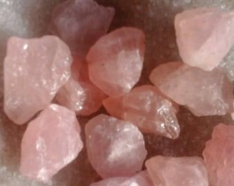 Raw rose quartz - 25.01 at 28, 00 g, Crystal healing