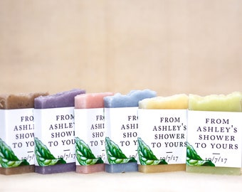 35 Bridal party personalized favor bridesmaid gift bridal shower favors wedding soap favors guest soap mini soap shower favors bridal shower
