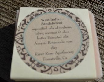 West Indian Sandalwood Olive oil Soap
