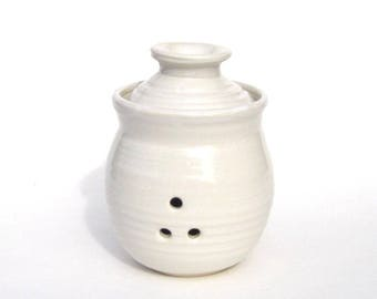 Garlic Keeper - NSW White Glaze
