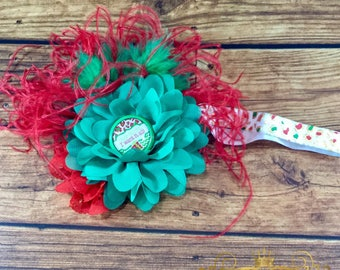 Dear santa I want it all elastic headband