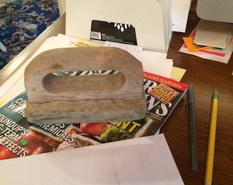 Masonry Trowel, Paper Weight, Desk Decor