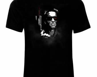 Inspired By Terminator Arnold Schwarzenegger Poster T-Shirt