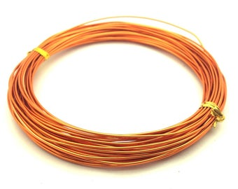 x10m aluminum diameter 1 mm, copper orange: FA0013