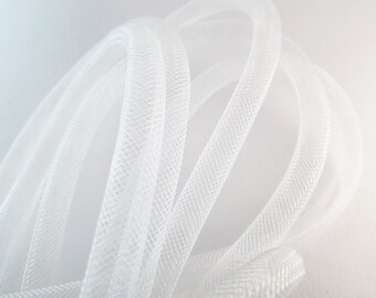 D-03055 - 1m Mesh tubing white 8mm