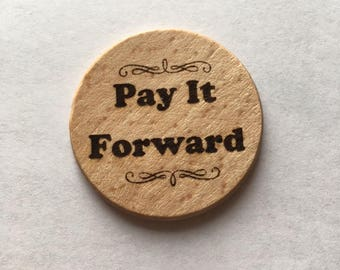 Pay It Forward Coins/Chips - Set of 5