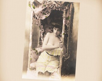 Bathing Beauty New 4x6 Vintage Postcard Image Photo Print BB14