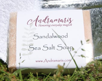 Sandalwood Sea Salt Soap