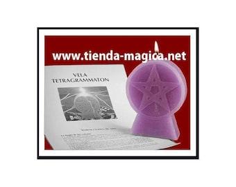 Candle Pentagram / Vela Pentagrama/
