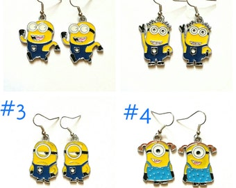 REDUCED- Minions Earrings- No4 only left in stock