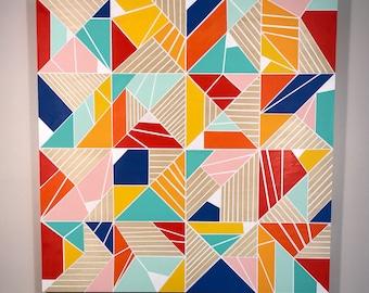 November Geometric Abstract