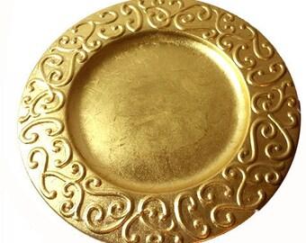 SA;E WAS 13.00.....Gold Holiday Platter