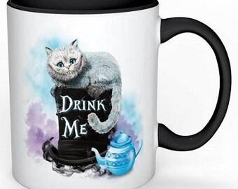 Cheshire cat ~Alice in wonderland~ mug
