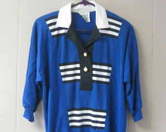 BARBARA GERWIT BLUE button-down shirt