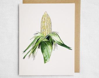 Corn Cob Card