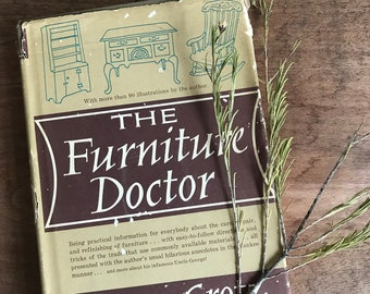 vintage furniture guide book, vintage how to refurbish furniture bolk