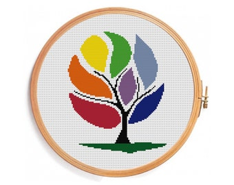 Wish Tree - Cross stitch pattern - instant download pattern