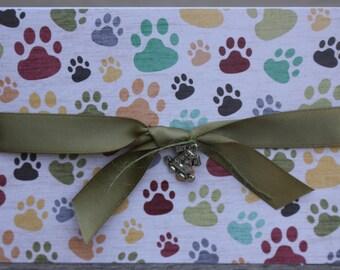 Dog Sympathy Card, Dog Loss Card, Pet Loss Card, Pet Sympathy Card, Pawprints Dog Loss Card