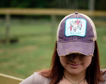 Stay Wild Trucker Hat- 5 Color Choices