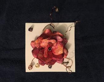Magenta Modern Paper Flower