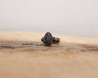 New Lander Turquoise Silver Ring
