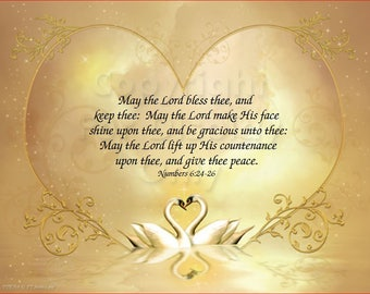 May The Lord Bless Thee - Art Id - SWL_01