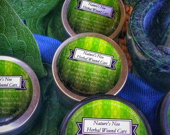 Nature's Neo Herbal Wound Salve  (2oz or 4oz)