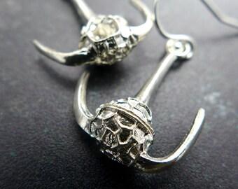 Ceratium Dinoflagellate Earrings - Marine Biology Jewelry - Plankton Earrings - Science Jewelry - Scientist Earrings - Science Gift