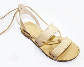 Handmade Greek Sandals Ioanna Gladiator