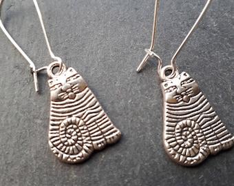 Fabulous Cheshire Cat Earrings