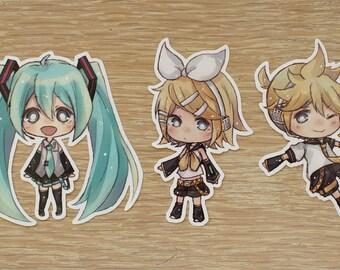 Chibi Vocaloid Stickers