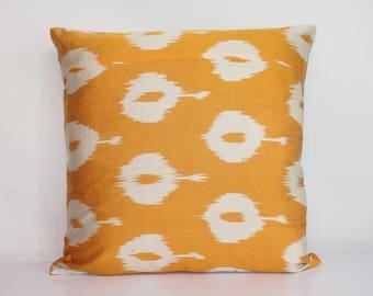 """Handmade ikat pillow cover 20""""x20"""""""