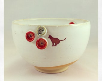 The Bull Bull Collection Black Cat- cereal bowl