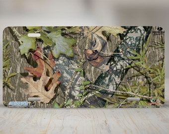 8014-\ Obsession Camo\u201d-Mossy Oak Camo License Plate Mossy Oak Camouflage & Mossy oak camo | Etsy