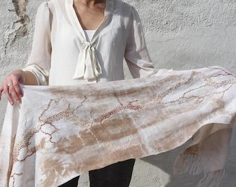 Handmade Botanical Dye Scarf