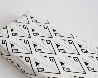 Wrapping paper snowdrops, 3 bows set, folded/rolled, scrapbooking paper, construction paper, bookbinding, patterned paper