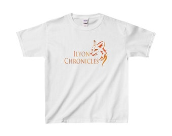 Ilyon Chronicles Orange Fox Kids T-Shirt
