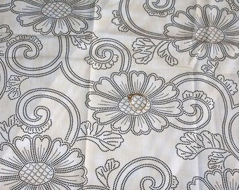 Japanese fabric with flower patterns