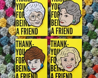 The Golden Girls Woven Patch Pack!