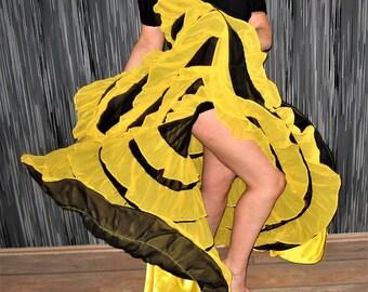 Can Can skirt, Burlesque, Saloon Girl, Fancy Dress, Can Can dance, Frill skirt, Multilayer skirt, Ruffle skirt, Long Can Can skirt