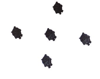 kids buttons , plastic buttons , owls , black