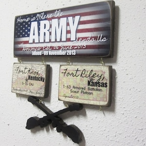 army duty station etsy