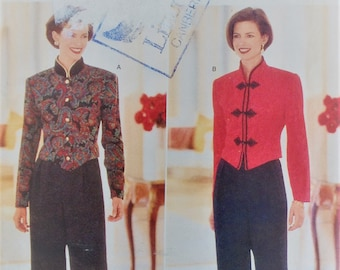 Butterick sewing pattern 4625 - Misses' petite top and pants - Jessica Howard