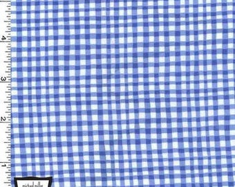 Cobalt Blue Gingham Play from Michael Miller Fabrics - Cotton Fabric