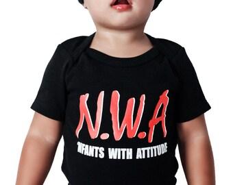 NWA Onesie (n'fants with attitude)