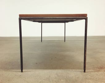Paul McCobb | Iron Coffee Table + Bench Planner Group | Mid Century